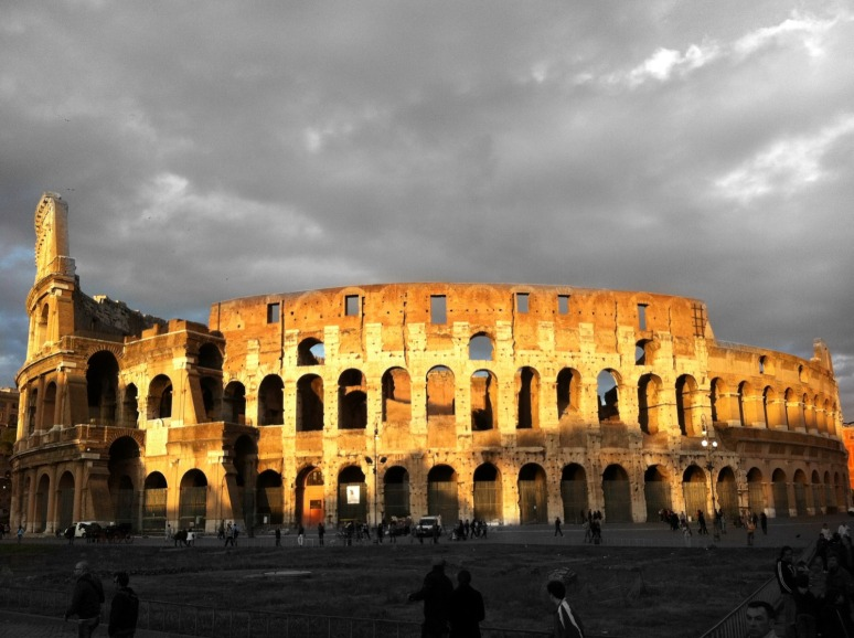 Colosseum on April 21, 2012 - Rome's Birthday