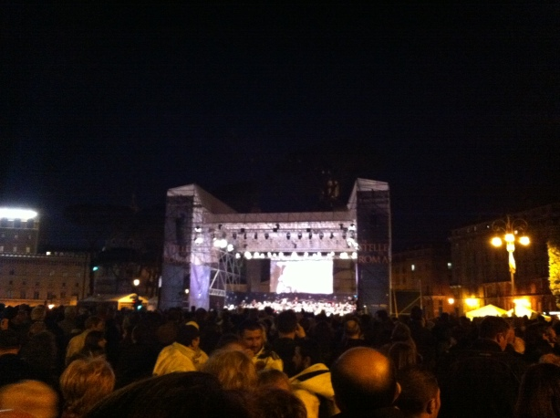 Concert, evening April 21, 2012 featuring Ennio Morricone