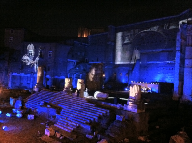 Evening Performance and Light Show, April 21 2011