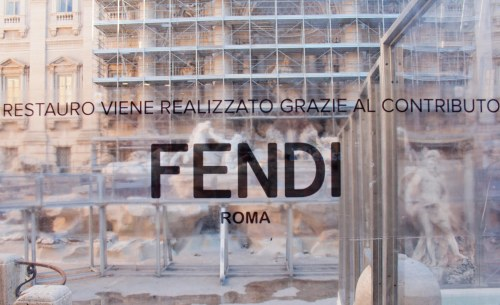 Fendi For Fountains Initative