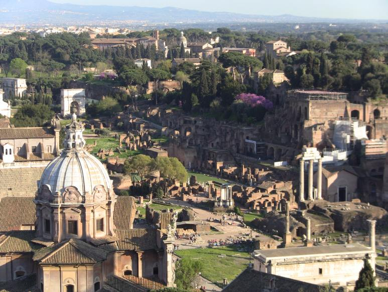 Roman Forum from Above