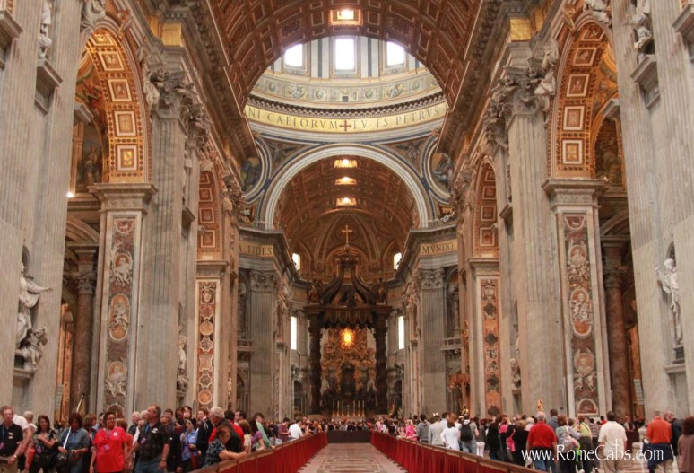 Saint Peter's Basilica - Rome Day Tour with Rome Cabs