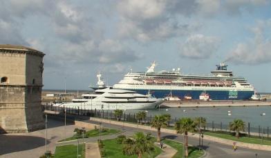 Port of Civitaveccha where Rome Cabs provides Civitavecchia Transfers