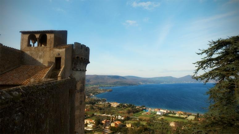 Lake Bracciano RomeCabs Pre Cruise Tour Civitavecchia Transfer