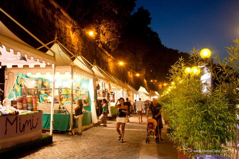 Summer Festival in Rome: Along Tiber River - Lungo il Tevere - RomeCabs