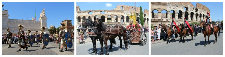 Rome Birthday April 21 - RomeCabs