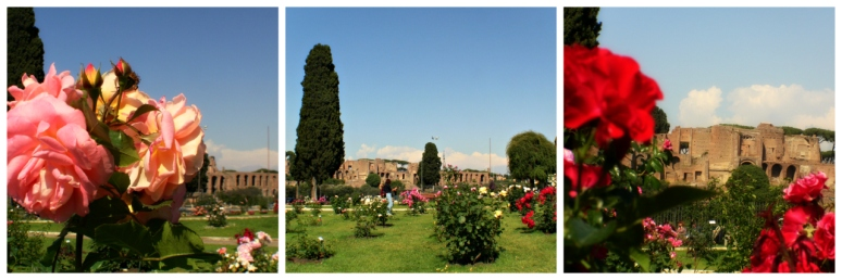 Rose Garden in Rome - RomeCabs