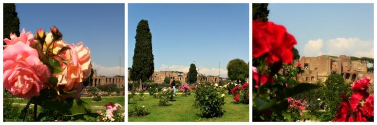 Rose Garden in Rome - RomeCabs
