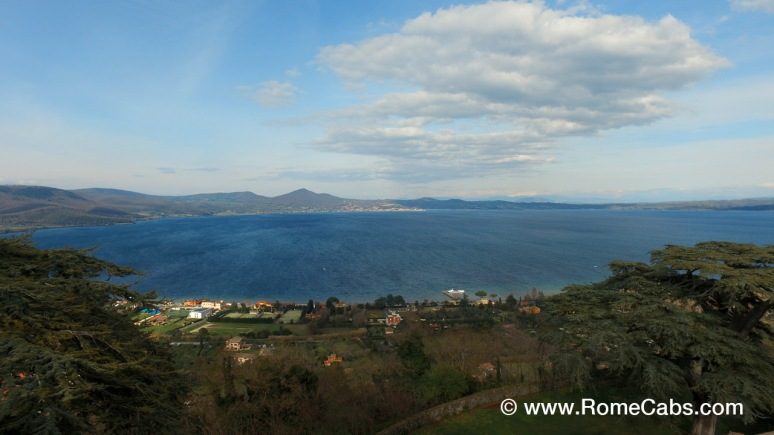 Bracciano Lake view from Orsini-Odescalchi Bracciano Castle
