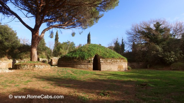 Cerveteri Etruscan Necropolis - Countryside Destinations near Rome