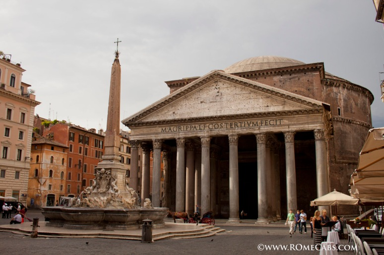 the Pantheon - Rome Tour with RomeCabs