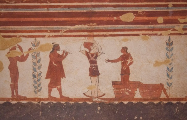 Monterozzi Etruscan Necropolis in Tarquinia - with RomeCabs