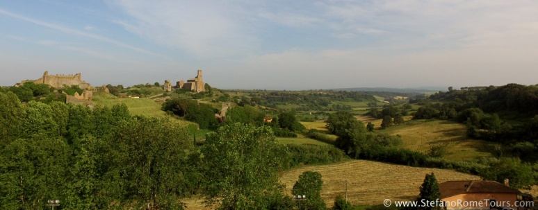 Tuscania's beautiful Etruscan Valley