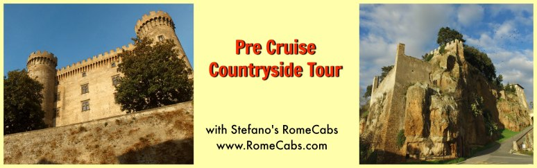 Pre Cruise Countryside Tour with RomeCabs