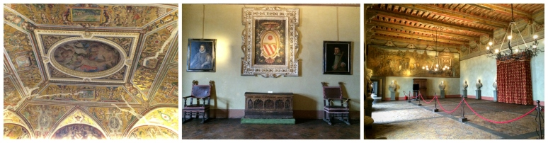Bracciano Castle Interior - Countryside Tour with RomeCabs