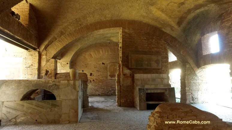 Ostia Antica - Civitavecchia Rome Sea Port Tour with RomeCabs
