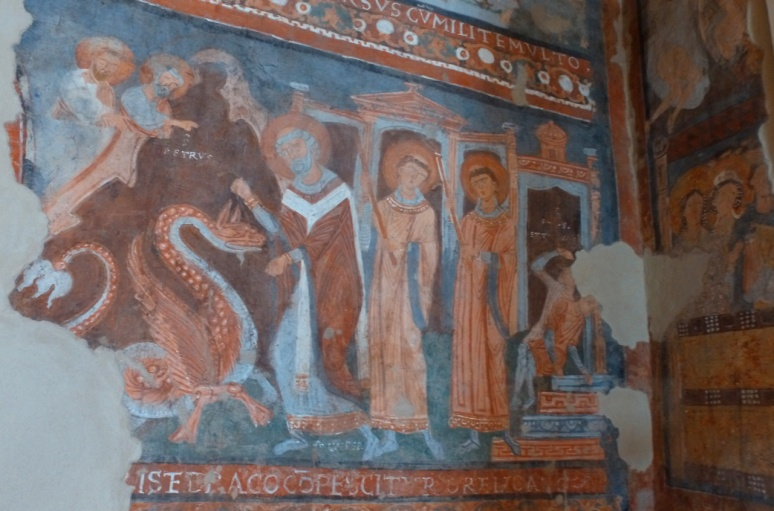 Sanctuary of Mary of Ceri frescoes - Countryside tour with RomeCabs
