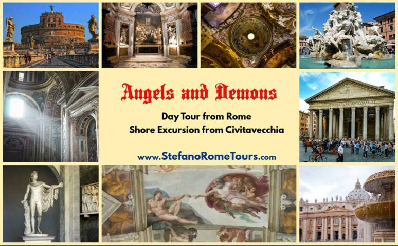 Rome Tours & Shore Excursions - Itineraries, Photos, Videos - ANGELS AND DEMONS