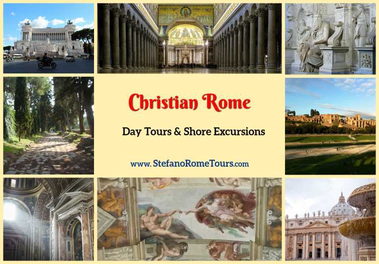 TOP 10 Rome Tours, Shore Excursions (with Photos, Videos) - CHRISTIAN ROME
