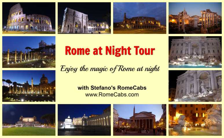 Rome Tours & Shore Excursions - Itineraries, Photos, Videos - ROME AT NIGHT
