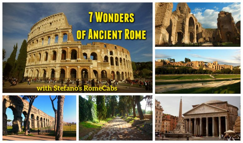 Rome Tours & Shore Excursions - Itineraries, Photos, Videos - 7 Wonders of Ancient Rome