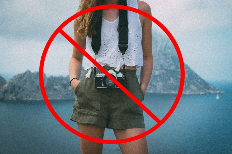 What NOT to wear at Vatican? NO SHORTS NO TANK TOPS